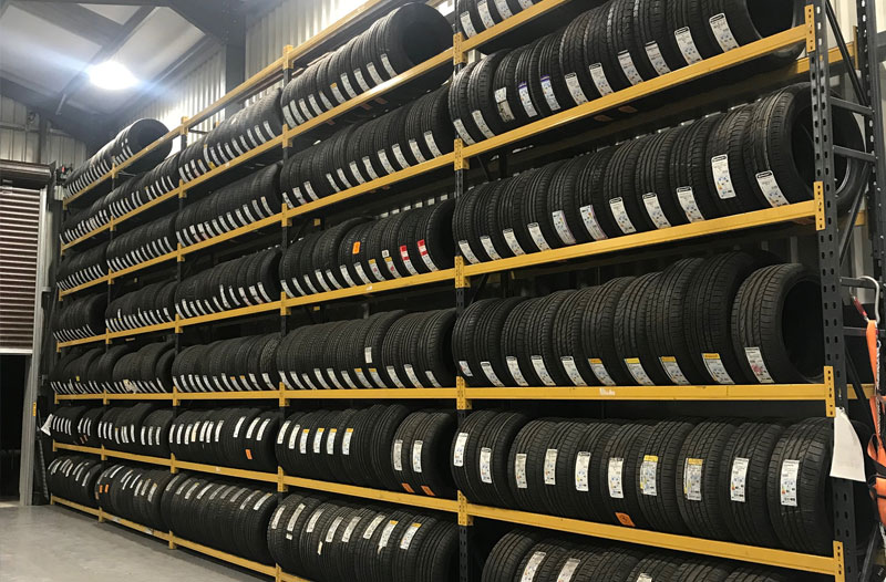 Tyres available at Gwalia Garage